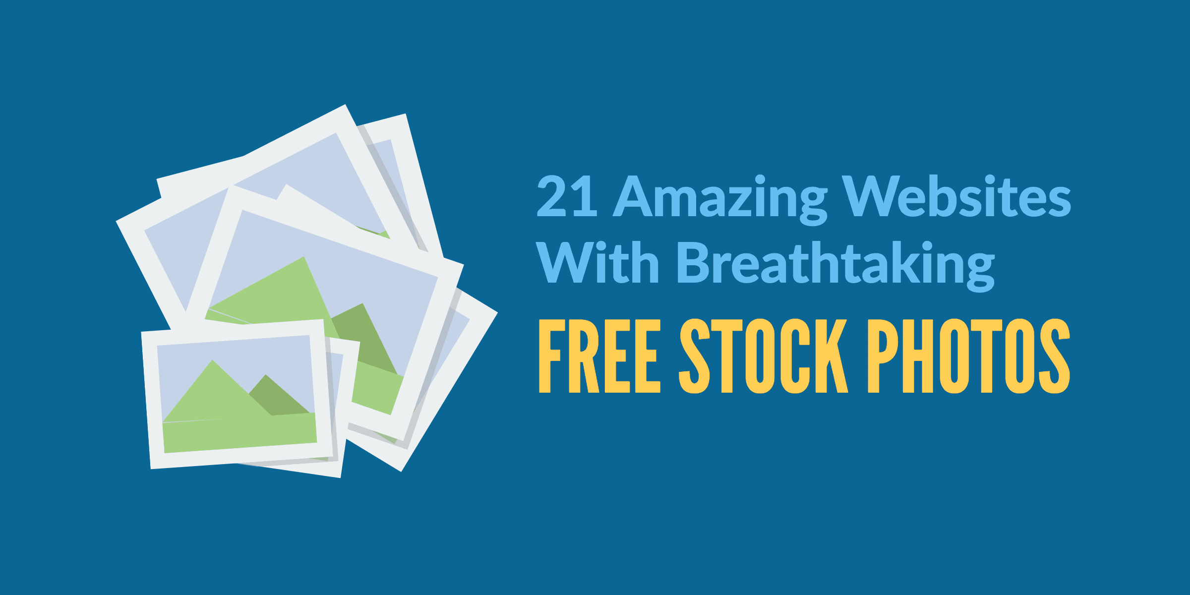 Free stock photos featured image