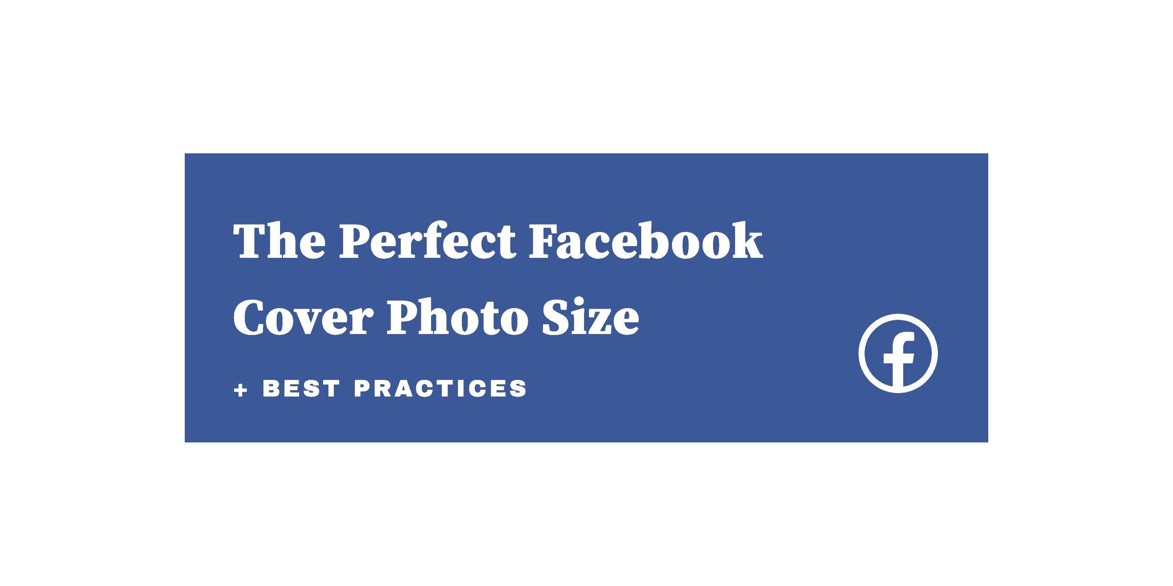 Facebook cover photo size