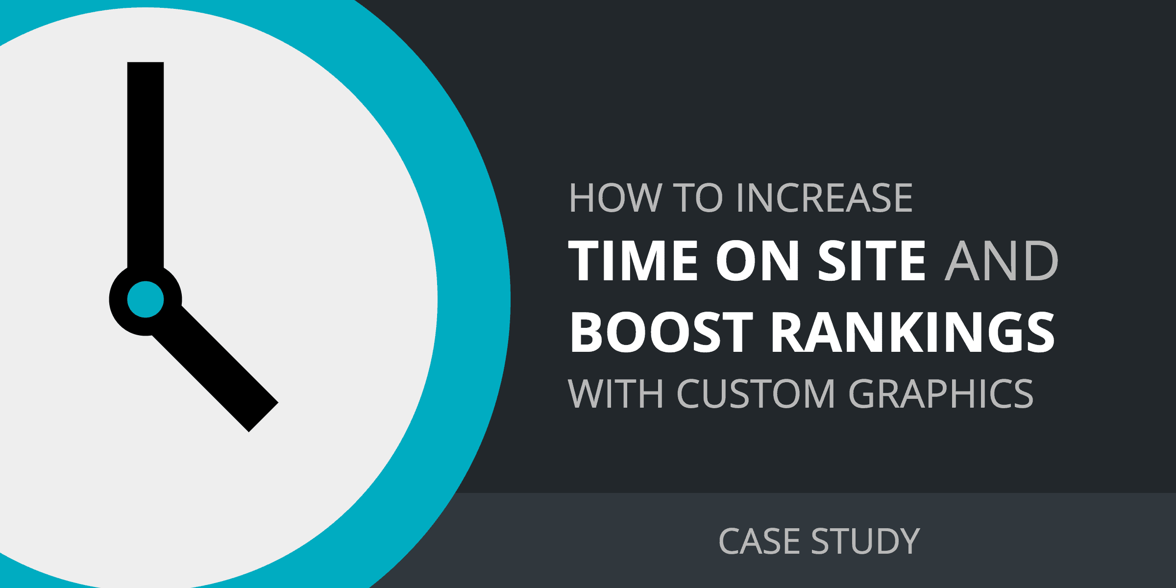 How to increase time on site with custom graphics