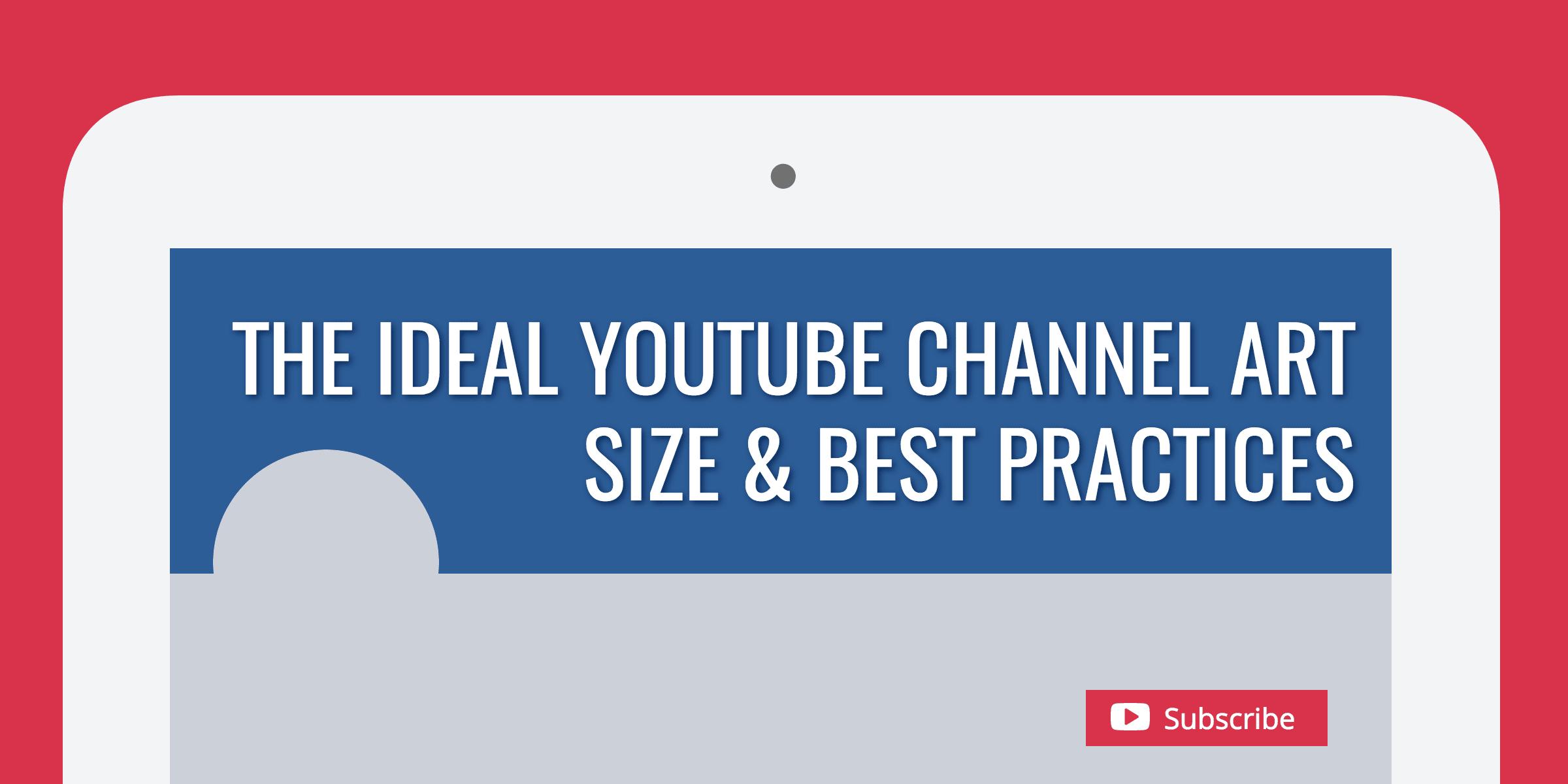 YouTube Channel Art Size