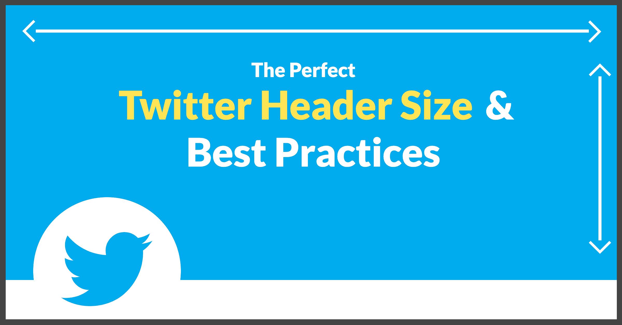 Twitter Header Size