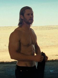 Chris Hemsworth Thor Muscle