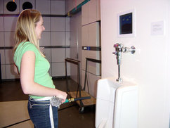 You're In Control (Urine Control) interactive gaming system