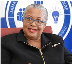 Marlene Street Forrest, Managing Director of the Jamaica Stock Exchange