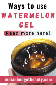 good vibes watermelon gel uses