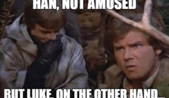 Star Wars memes by MissAgent E on Pinterest. #starwars #memes #starwarsepisodevi...