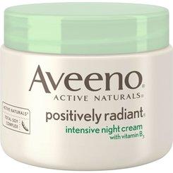Aveeno Positively Radiant Intensive Moisturizing Night Cream | 40plusstyle.com