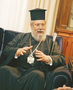 Archbishop Chrysostomos of Cyprus