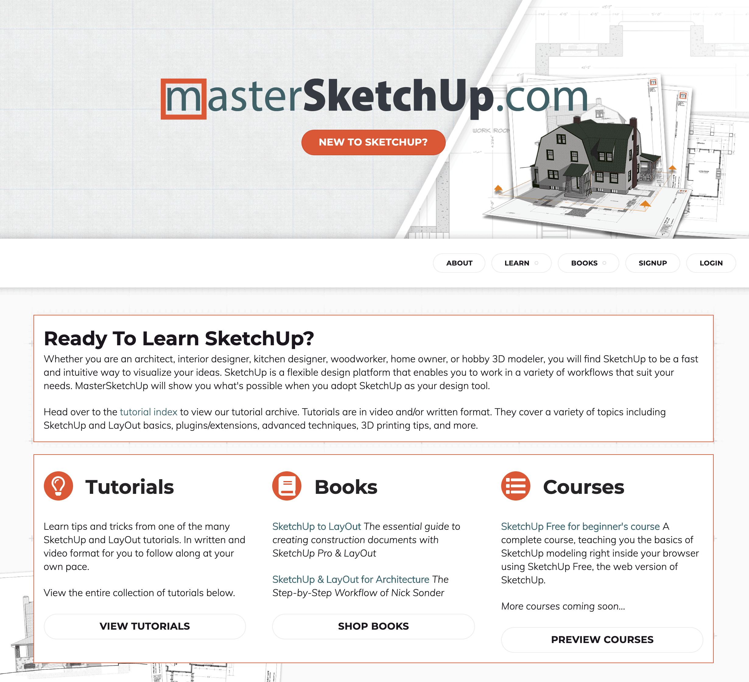 Master Sketchup Email Example
