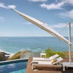 Jardinico JCP.401 Umbrella, Pool Side - White
