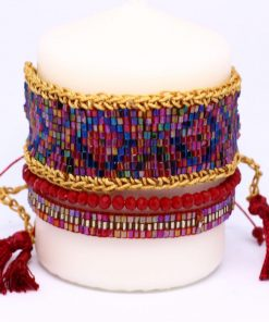 brazaletes hecho a mano