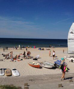 Lederkette Surferkette Surfbrett Anhänger