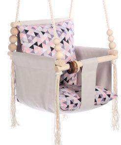 Huśtawka z miękkim siedziskiem