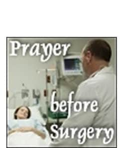 Prayer Before Surgery Meditation