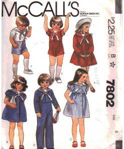 McCalls 7802 M