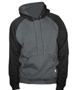 King Athletics Raglan hooded fleece