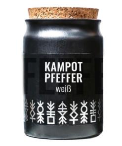 weisser Kampot Pfeffer von Greenomic