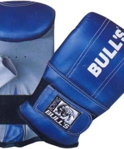 Punching Mitt Tough Leather With Elasticized Velcro Cuff