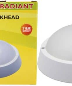 Radiant Outdoor Bulkhead Led 10W IP65 White