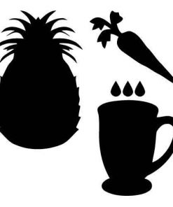 Carrot Pineapple Juice Clip Art