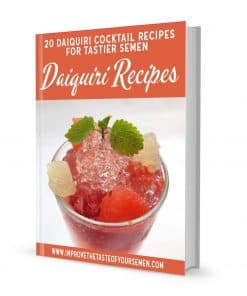 daiquiri recipes for tastier semen