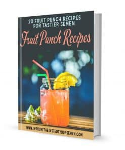 fruit punch recipes for tastier semen