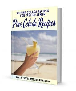 pina colada recipes for tastier semen