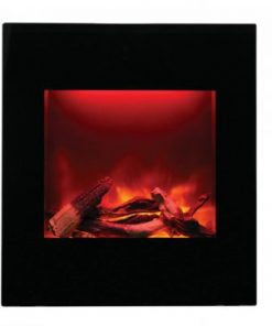 Amantii WM-BI-2428-VLR-BG-EMBER wall-mount fireplace