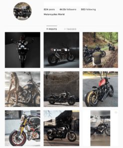 Buy MotorCycles Instagram Accounts with Real Usernames and Engagements. See our Reviews on our Google Business Page. #1 Trusted Instagram Account Seller