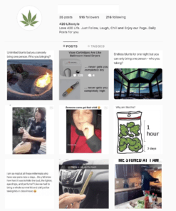 Buy Weed Lifestyle Instagram Accounts with Real Usernames and Engagements. See our Reviews on our Google Business Page. #1 Trusted Instagram Account Seller