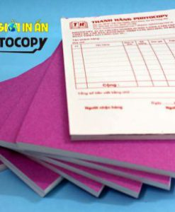 In hóa đơn bán lẻ - phiếu nhập kho -giấy order
