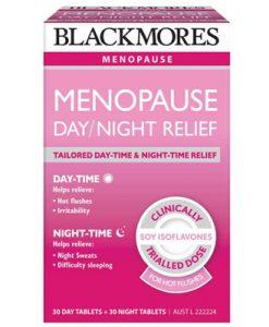 Điều trị các triệu chứng mãn kinh ở phụ nữ Blackmores Menopause Day and Night Relief 60 Viên