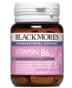 Giảm triệu chứng tiền kinh nguyệt [Blackmores PMS Support Vitamin B6}