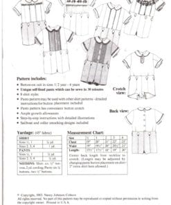 Ginger Snaps Designs Boys Button on Suit O 1