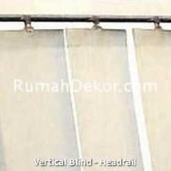 Vertical Blind - Headrail