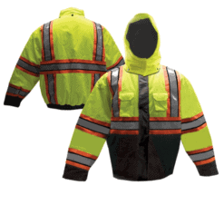 Tri Color Reflective Jacket