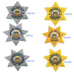 Security Chest Patches / Cap Patches