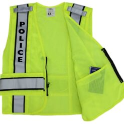 Reflective Duty Vests - Police, Sheriff, Security, Traffic Control or Plain.