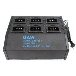 6 Radio Rapid Li-Ion Battery Charging Station for UA900 and UA901