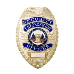 Security Enforcement Officer Badge - Gold