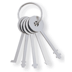 Warded Padlock Picks