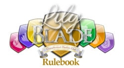 Lily X Blade rulebook title
