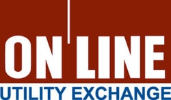 The Online Utility Exchange logo