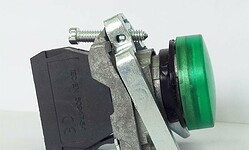LA139T-BVB3 – lampka sygnalizacyjna LED 24V, ZIELONA