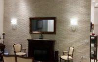 עיצוב מלון עם בריקים