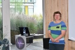 Dr. Iris Heidmann presenting at Amphacademy 2019