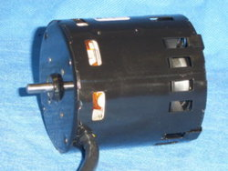 Air cooled motor