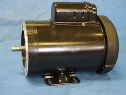 Enclosed fan-cooled motor