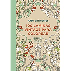 Arte-antiestrés-láminas-colorear-DIVERSAS-100-láminas-de-mandalas-para-colorear-antiestrés-y-relajantes