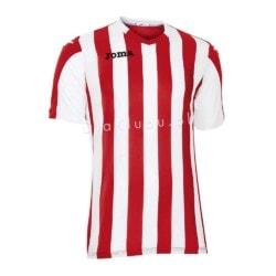 Koszulka piłkarska JOMA Copa czerwono-biała
